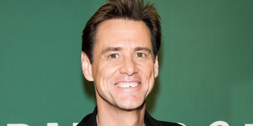 "Jim Carrey Signs Copies Of His New Book ""How Roland Rolls"""