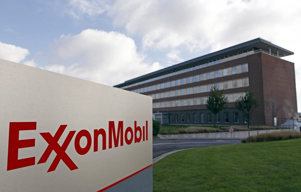 File photo of  the Belgian headquarters of oil giant ExxonMobil in Machelen