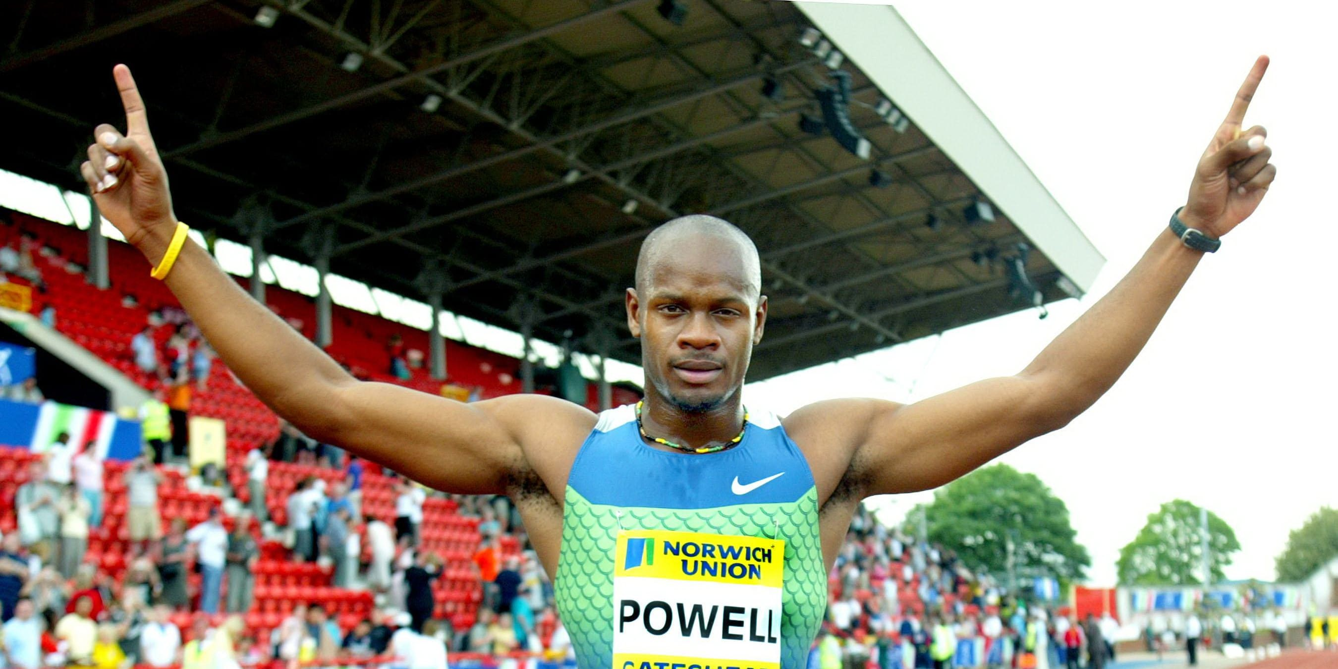 The Triple Crown Usain Bolt Cements Legacy Greatest Sprinter History Makes Nine Gold Medals Nine 4x100m Relay Victory additionally Athletics 20 sport likewise Michael Phelps Body Images 2012 also Dixon  leroy moreover Amita. on asafa powell biography