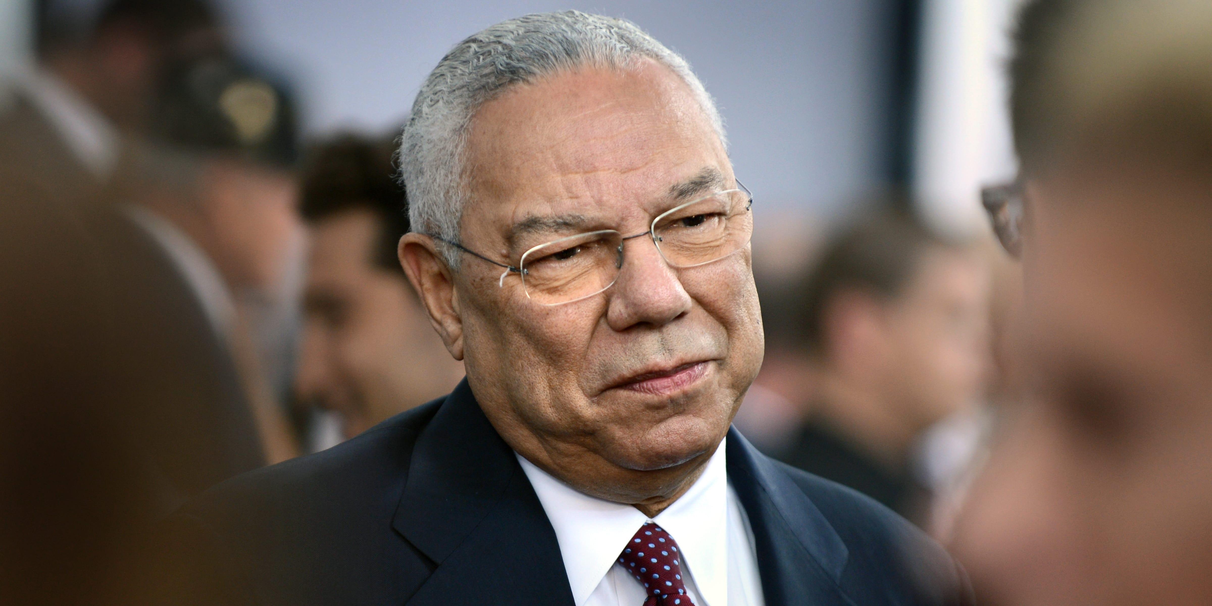 Is Collin Powell Dead (politically).?