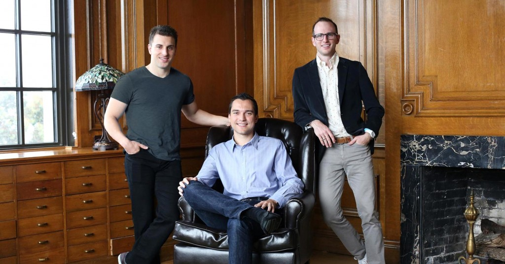 Joe Gebbia, Brian Chesky, Nathan Blecharczyk