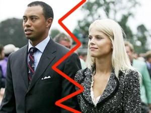 Tiger Woods, Elin Nordegren,