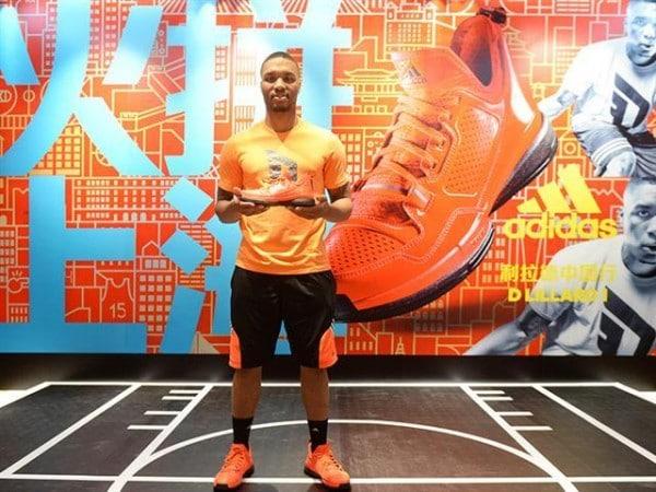 Damian Lillard, Basketball - Adidas