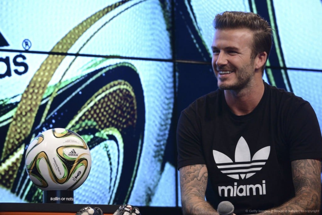 David Beckham, Soccer – Adidas1