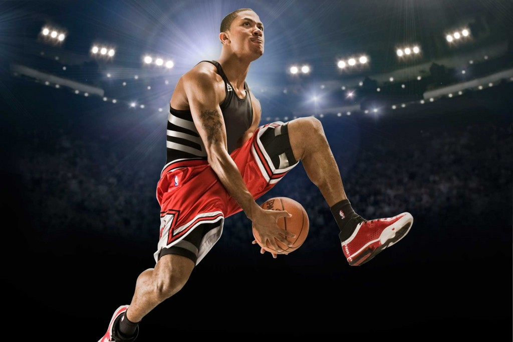Derrick Rose, Basketball – Adidas