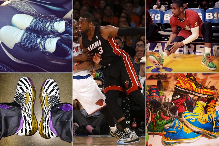 Dwayne Wade, Basketball – Li Ning