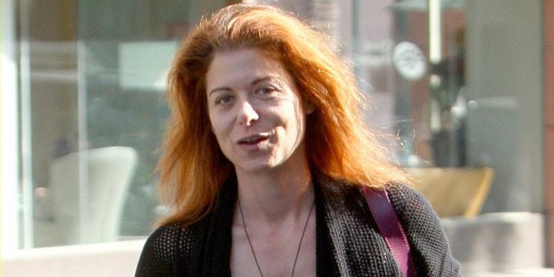 Debra Messing without makeup