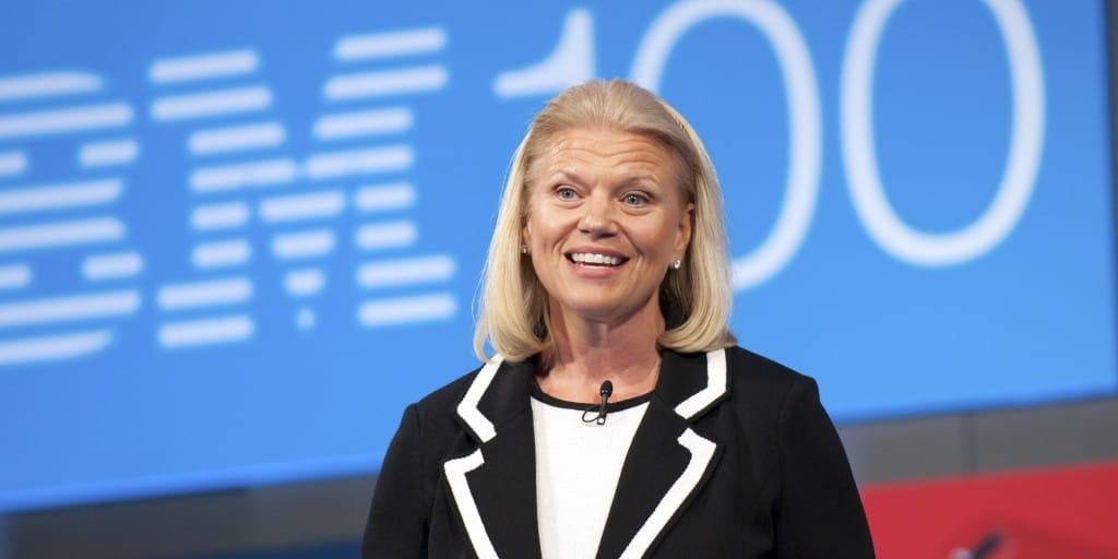 IBM Names Rometty to Succeed Palmisano as First Female CEO