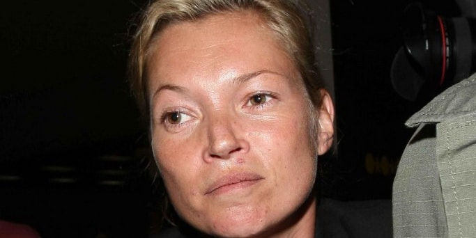 Kate Moss Without Make-Up