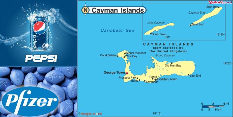 Pepsi-Cayman islands