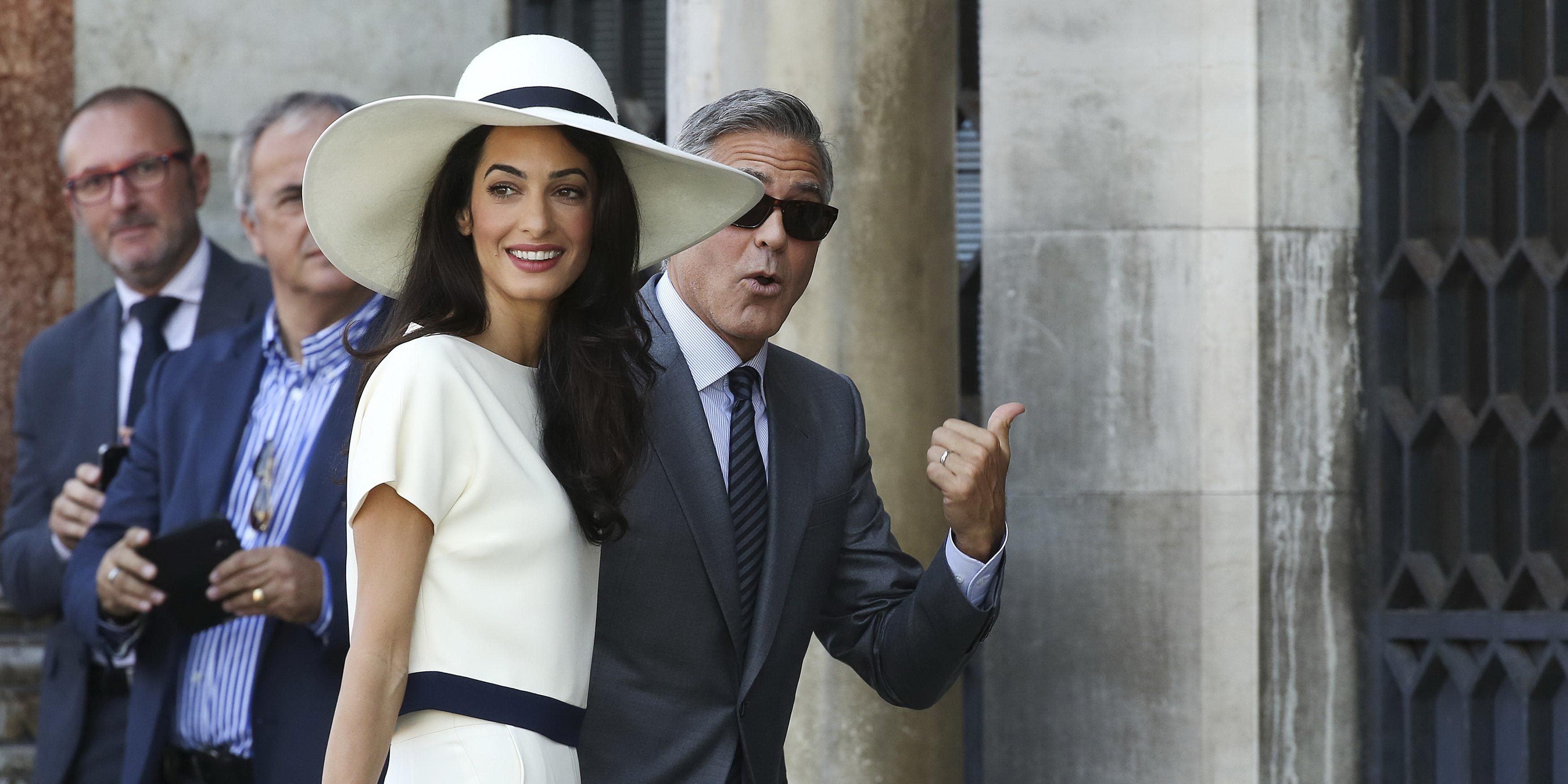 Amal Clooney Net Worth 2018: Wiki, Married, Family, Wedding
