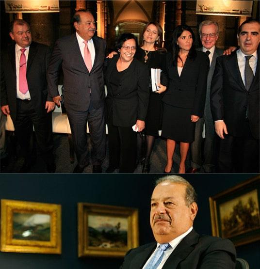 Carlos Slim Helú & family33