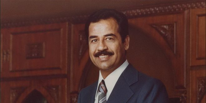 he who confronts saddam hussein biography Saddam was steeped in arab history and ba'thist ideology by the time he   confronting imperialist powers could arab nationalism be freed from western.