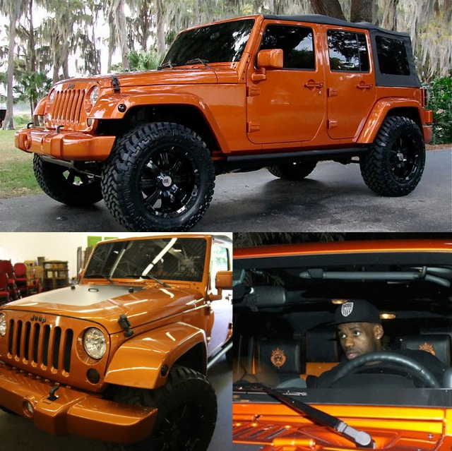 LeBron James – Jeep Wrangler Unlimited99