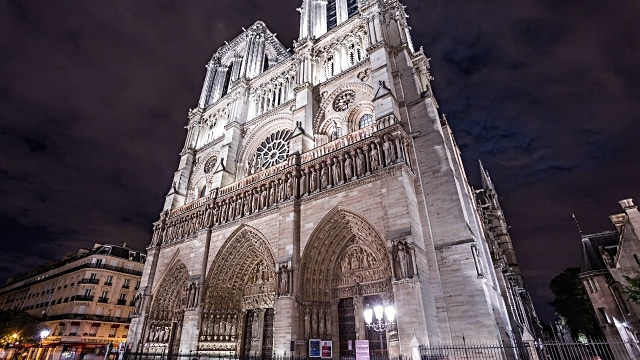 Notre Dame Cathedral, Paris, France4