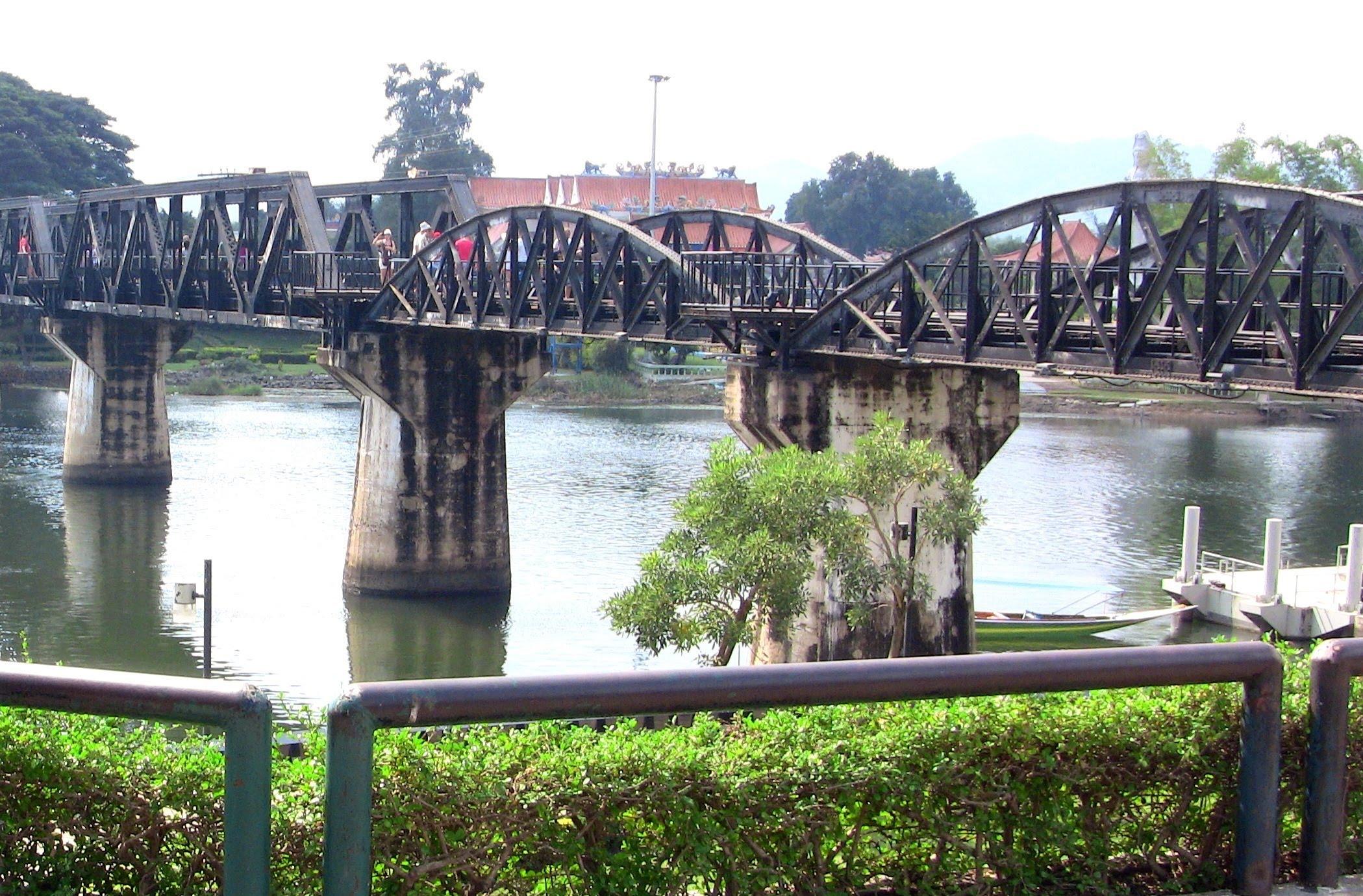 Bridge on the River Kwai, Kanchanaburi, Thailand1