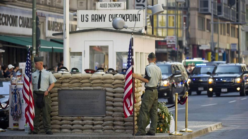Checkpoint Charlie, Berlin, Germany1