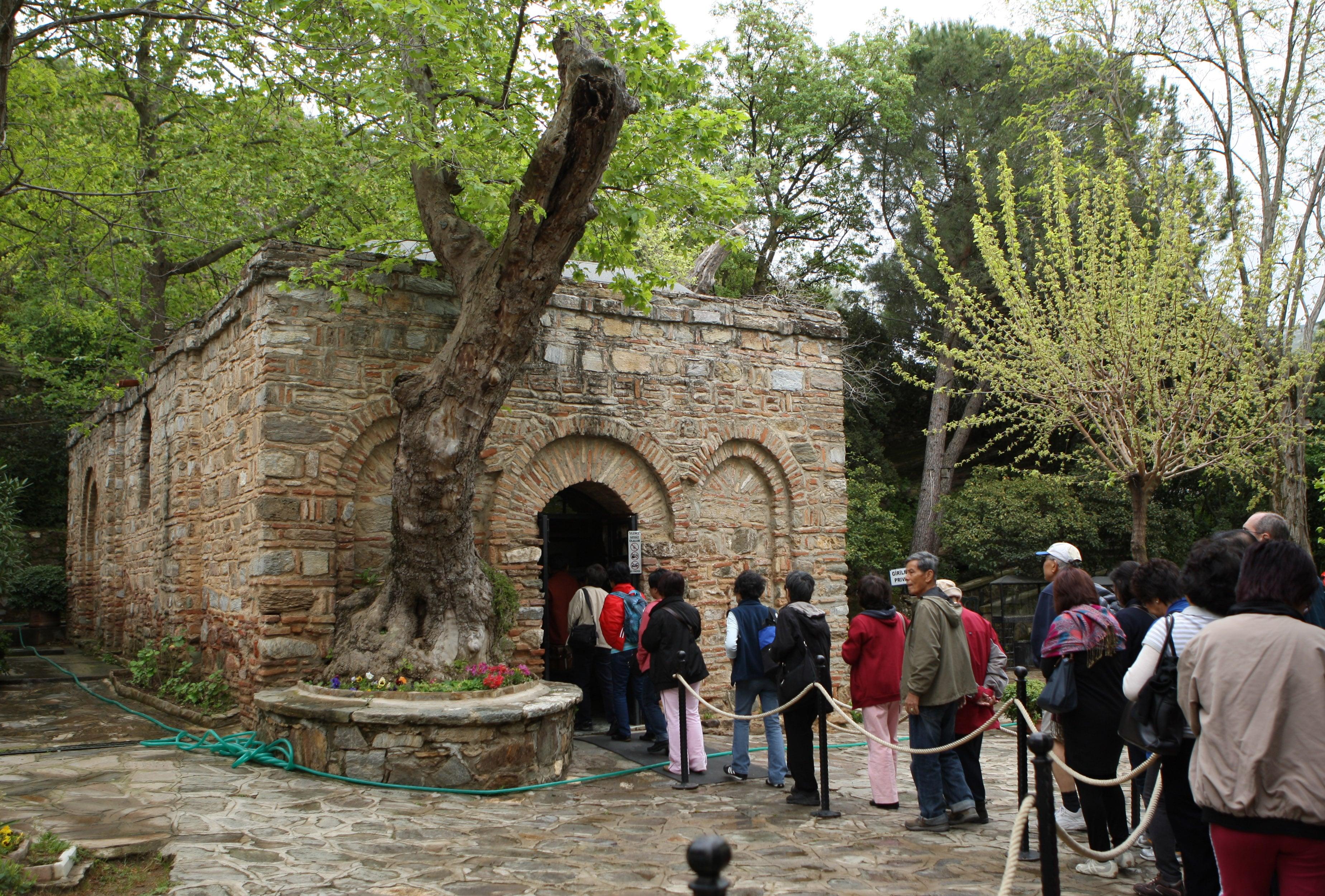 House of the Virgin Mary, Ephesus, Turkey1
