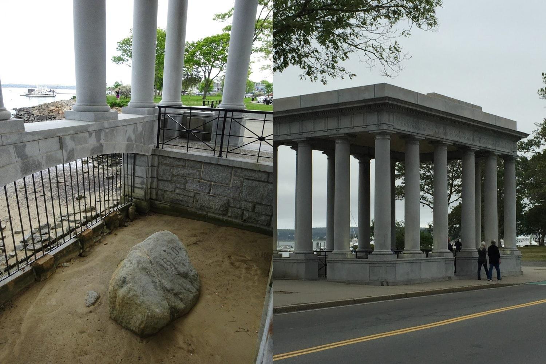 Plymouth Rock, Plymouth, Massachusetts USA10