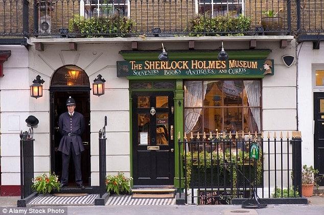 The Sherlock Holmes Museum, 221B Baker Street, London1