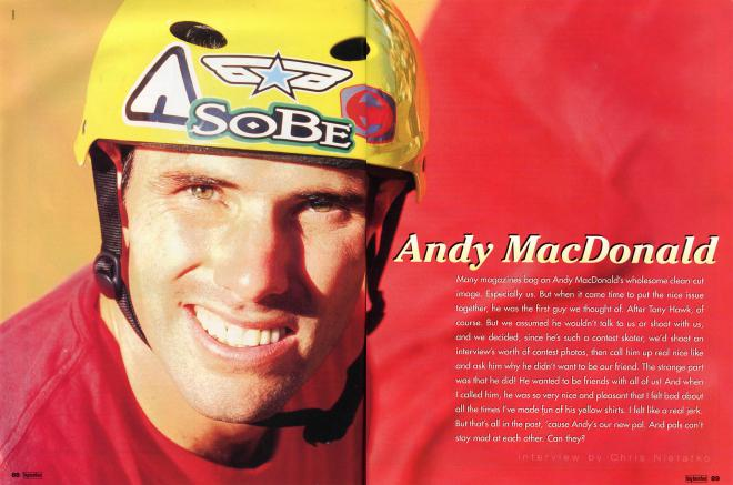 Andy Macdonald Net Worth