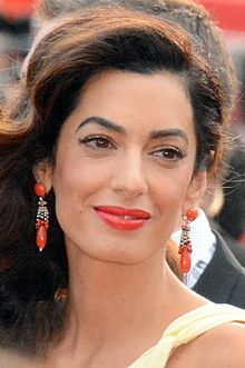 Amal Clooney in May 2016