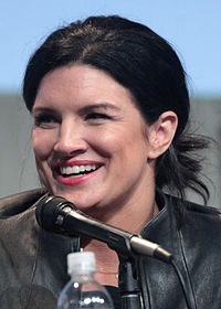 Gina Carano in 2015 SDCC