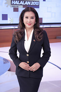 Korina Sanchez at abs-cbn studio.jpg