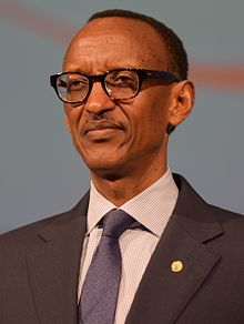 Paul Kagame in Busan, South Korea, 28 October 2014.